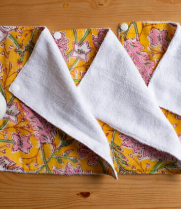 Reusable Kitchen Roll In Yellow