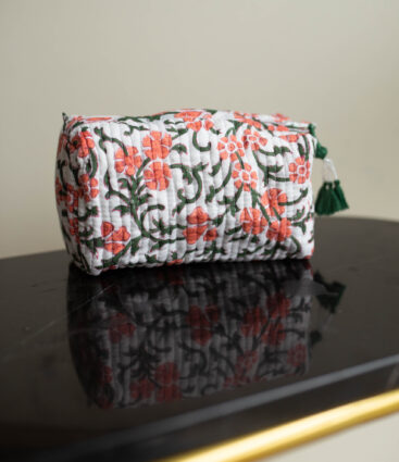 Eki Floral Wash Bag
