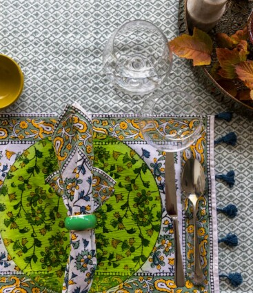 Tediyi Green Placemats