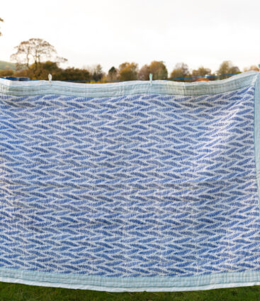 Pisa Quilt In Denim Blue